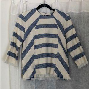Zara knit blouse